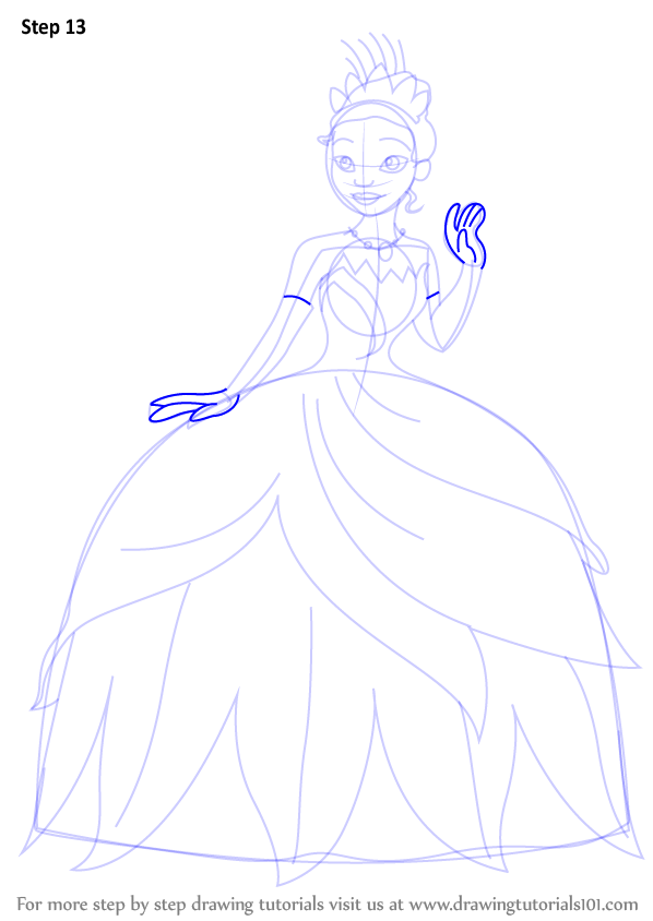 Drawn princess princess and the frog And shown Draw (The the