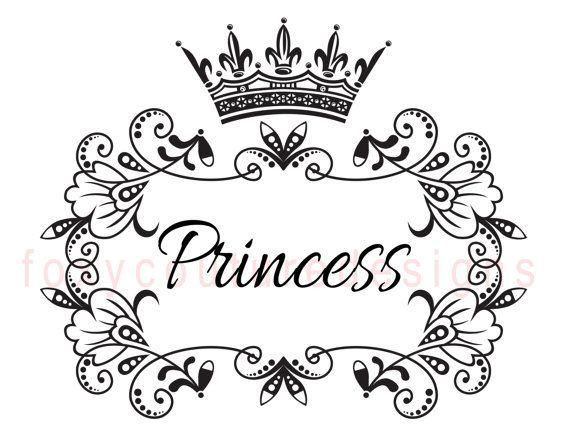 Drawn princess princess crown With Best Large Image crowns