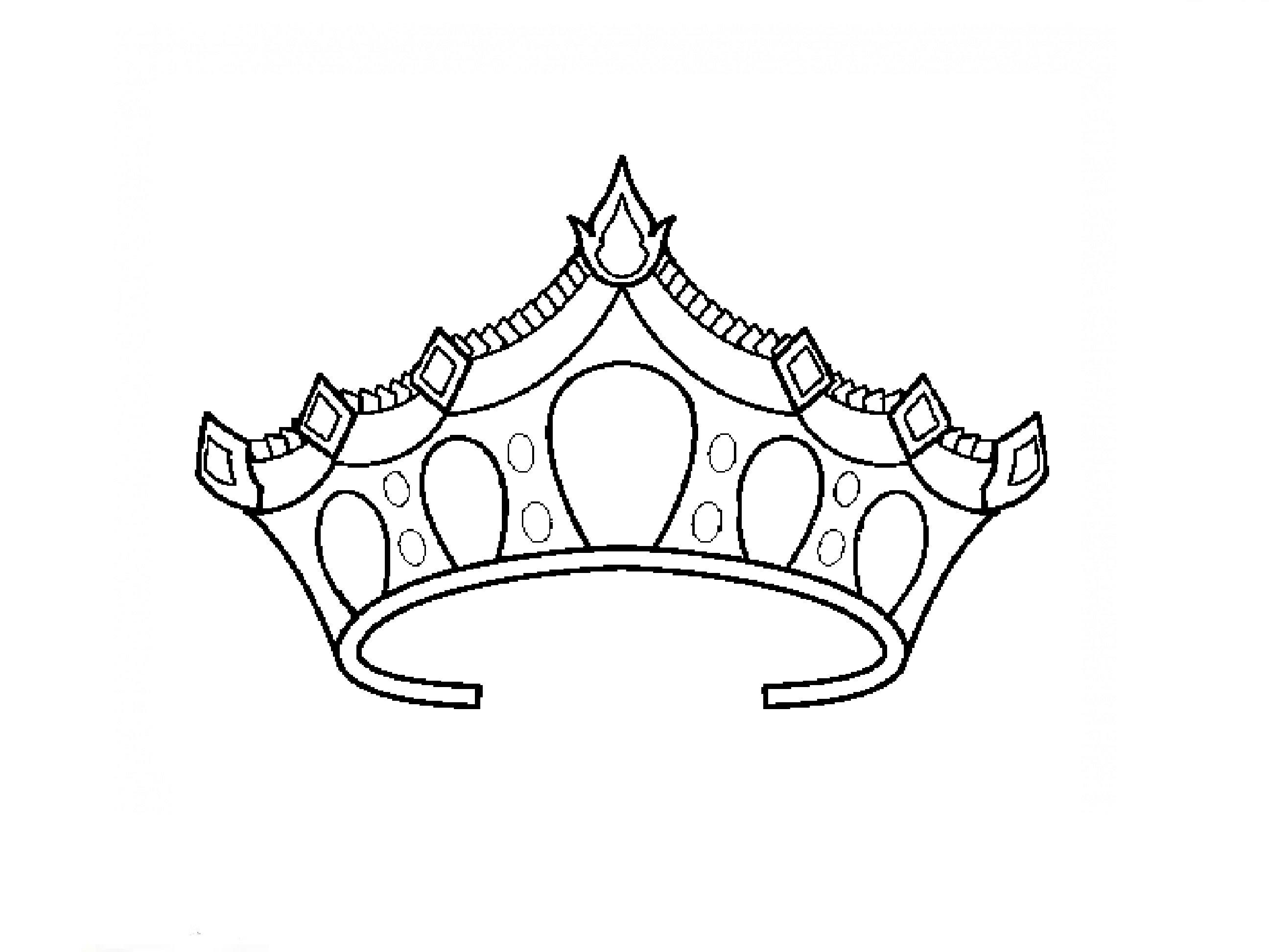 Drawn princess princess crown To to Princess корону нарисовать