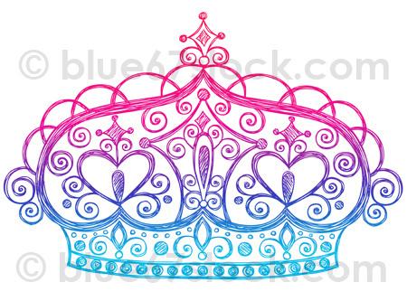 Drawn princess princess crown Drawn Flickr Tiara Drawing Doodle
