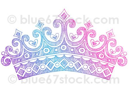 Drawn princess princess crown Drawn com Tiara Drawing Doodle