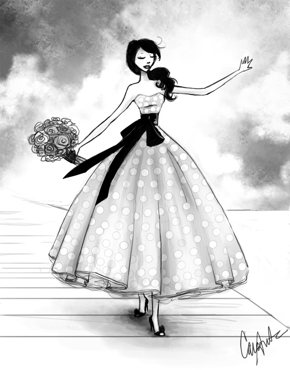 Drawn gown dress sketch  Trends > anime Princess