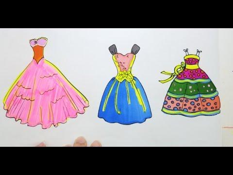 Drawn princess princess gown Princess Kids Draw for to