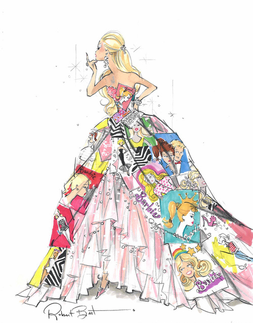 Drawn princess princess gown Of drawing gown a a