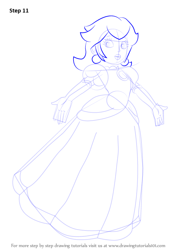 Drawn princess princess peach How & Peach from Super