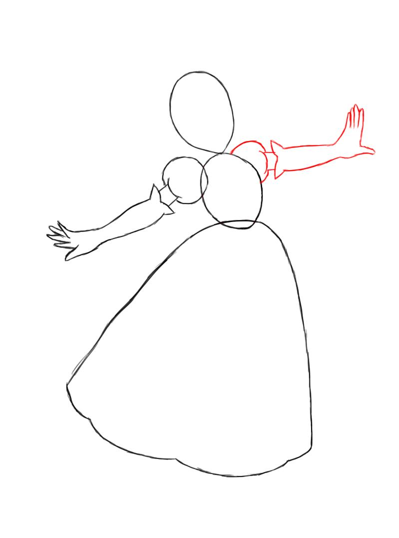 Drawn princess princess peach Princess previous arm How To