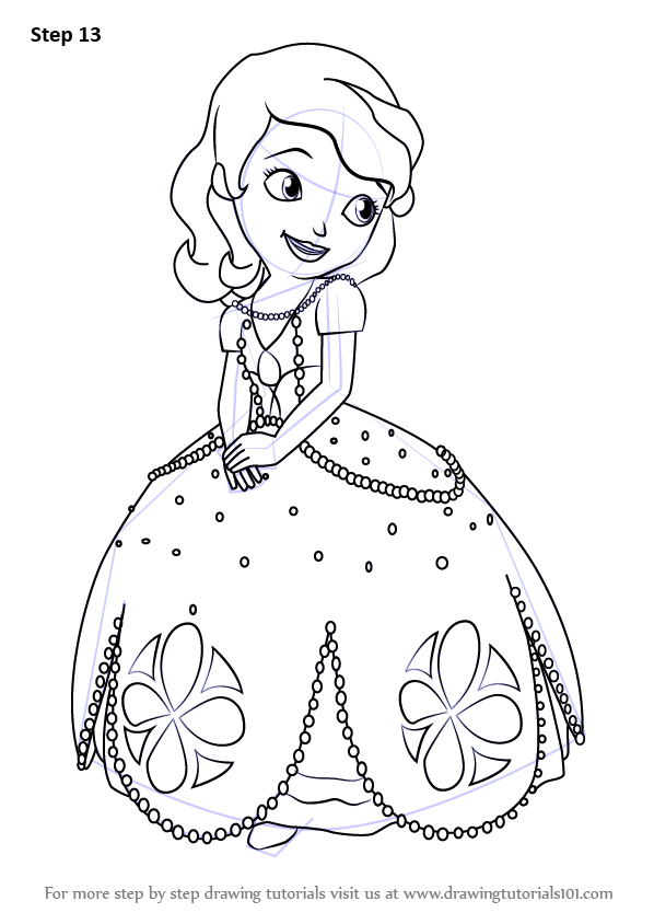 Drawn princess princess sofia Draw (Sofia Sofia to Learn