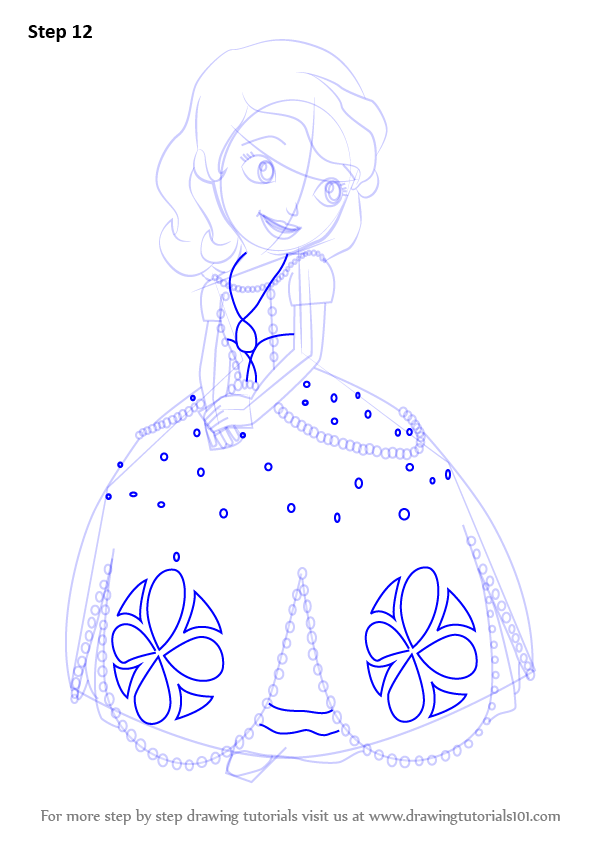 Drawn princess princess sofia To First Princess How