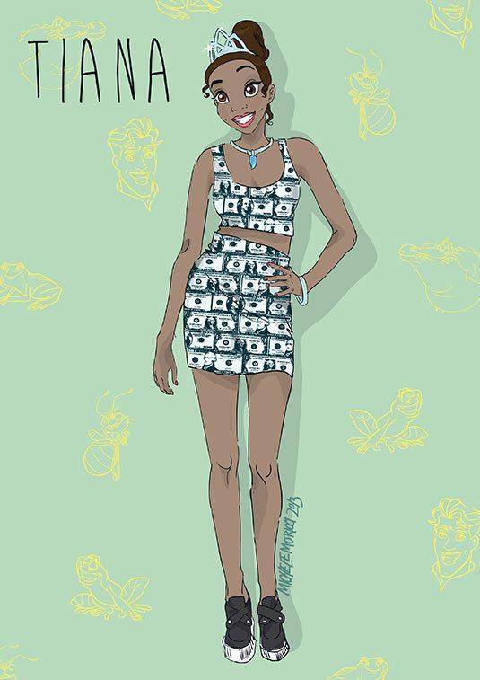 Drawn princess ratchet Princess tiana _cos Pose 53a0531d5d6c5_