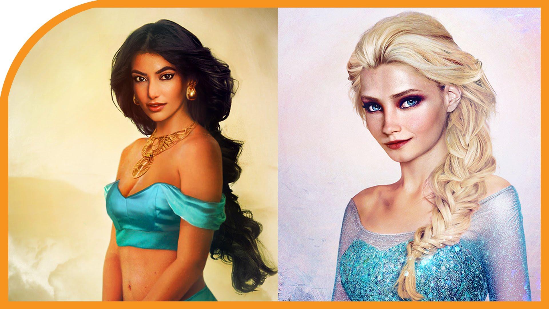 Drawn princess realistic YouTube Disney 20 Drawings