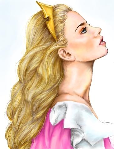 Drawn princess realistic Deviantart com by Princess: on