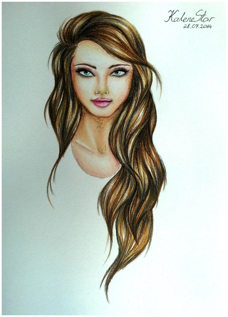 Drawn princess realistic Princess princess for & drawings