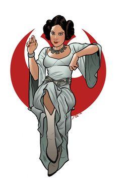 Drawn princess rebel Princess Star Wars: Wars Leia