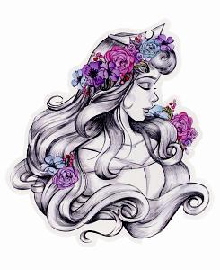 Drawn princess sleeping beauty #Princesas Disney #Princess Princess│Disney Princesas