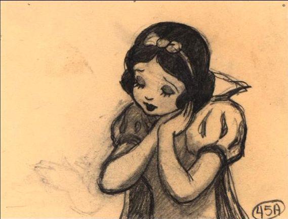 Drawn princess snow white 296 Princess more Pinterest Snow