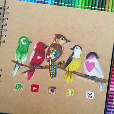 Drawn princess social media Follow Birds Favorite! Your FAVE?!