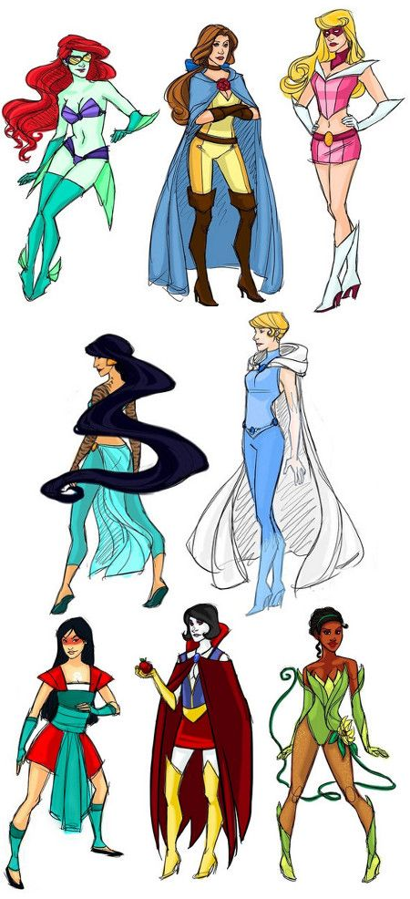 Drawn princess superhero fairytale Put Pinterest this want on