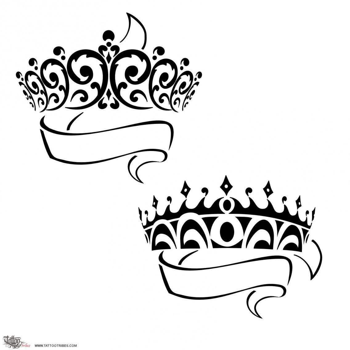 Drawn princess tattooed Crowns Princess Tattoo halimeda Photo