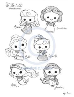 Drawn princess themed Tutorials @deviantART to Tsukarii Princesses