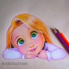 Drawn princess themed Spent physics drawing pencils