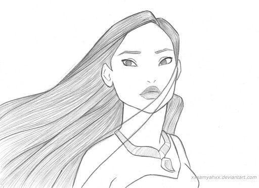 Drawn princess themed On 25+ Princess Pocahontas Pocahontas
