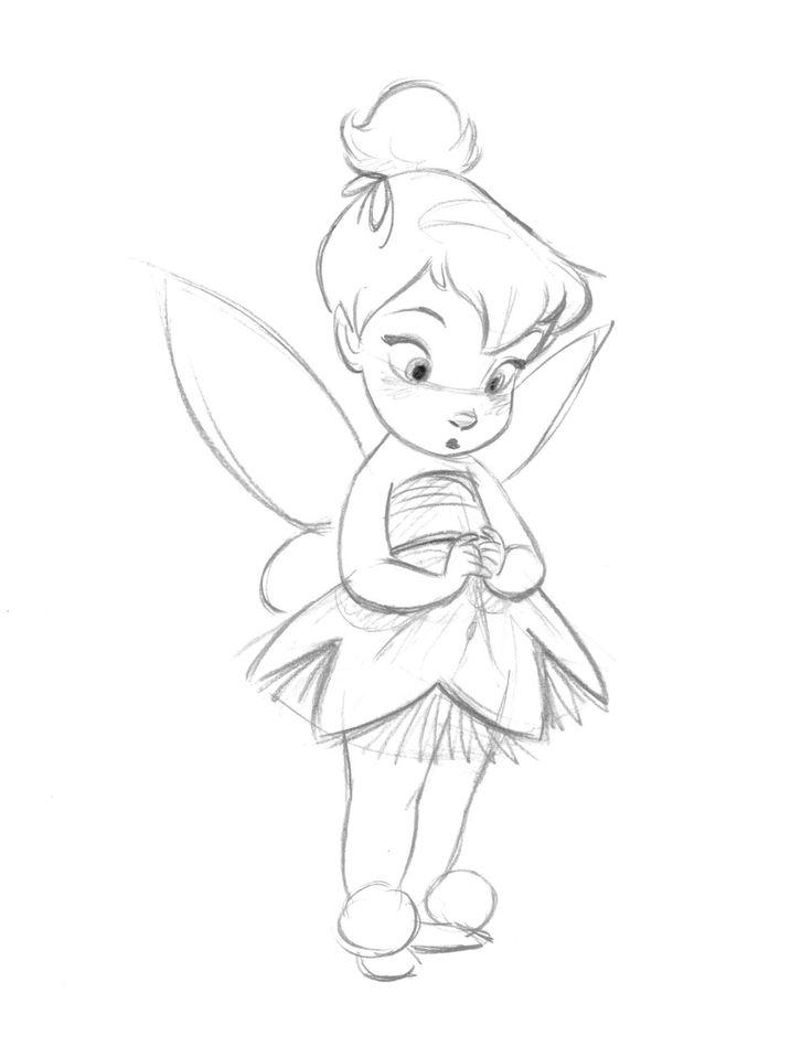 Drawn princess tinkerbell Art Search Drawing Pinterest Drawings