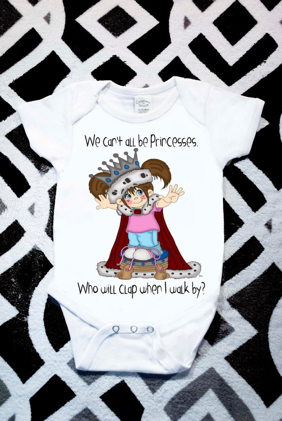 Drawn princess unique Onesie Onesie Hand Princess Charming
