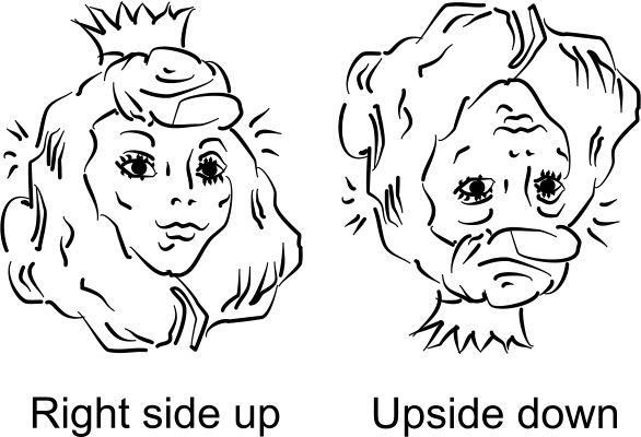 Drawn princess upside down And and rightside ideas Search