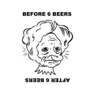 Drawn princess upside down Few Beers A Illusions Illusion
