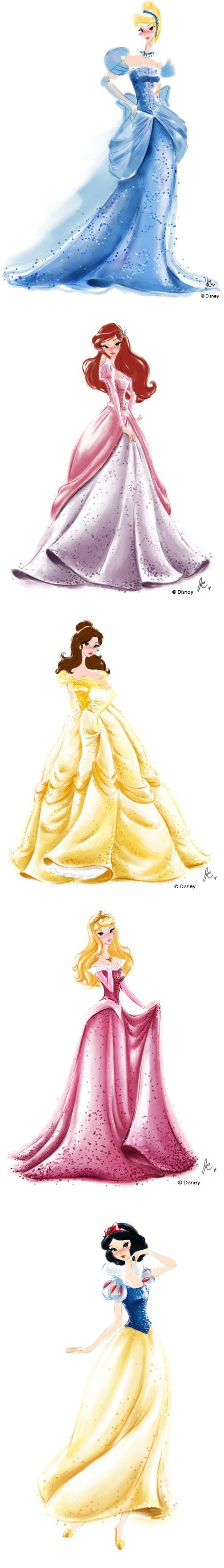 Drawn princess watercolor Chung on Watercolors ideas art