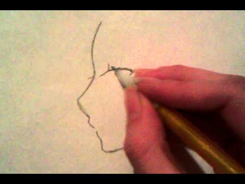 Drawn profile angel side At (Step by angle How