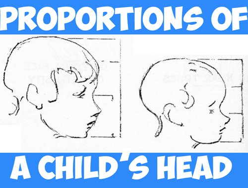 Drawn profile baby face Articles in Draw How Learn