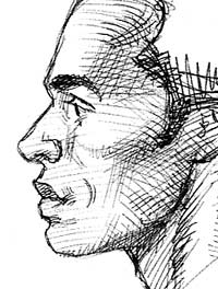 Drawn profile beginner Profile portrait the drawing tutorial