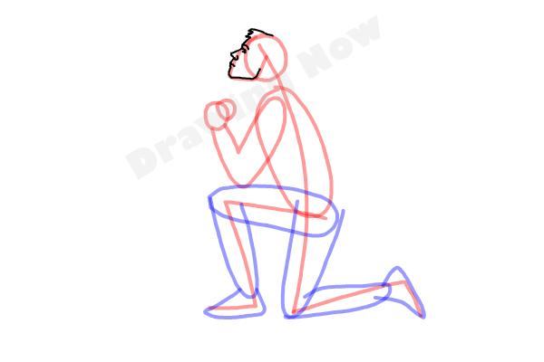 Drawn profile cartoon side Their How person Their a