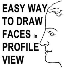 Drawn profile child face To to Human want