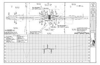Drawn profile detailed Engineering Plan 237 Profile Sheets