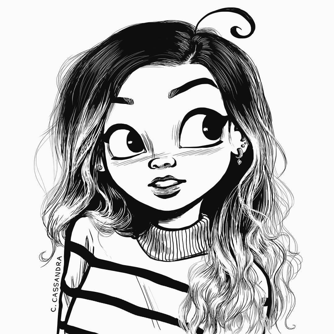 Drawn profile draw Cassandra pic! Pinterest my calin