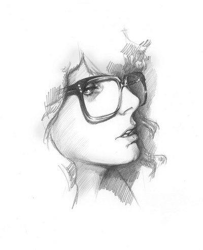 Drawn profile draw Profile DrawingGirls 131 Drawn Pinterest