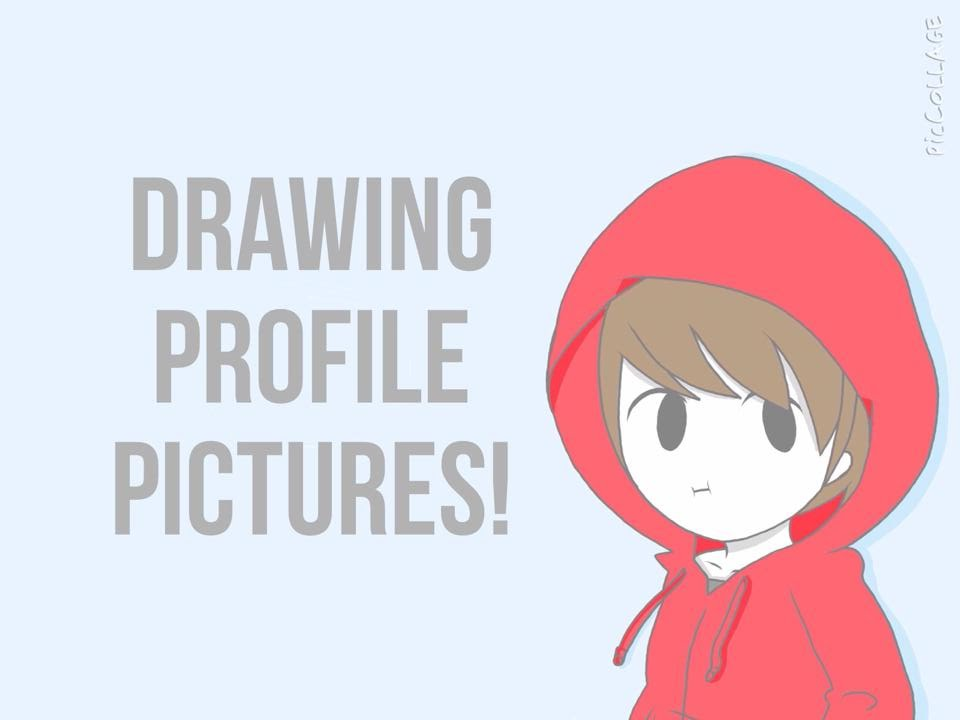 Drawn profile draw YouTube  Profile Pictures! Drawing