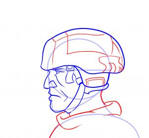Drawn profile easy To  Figures by Step