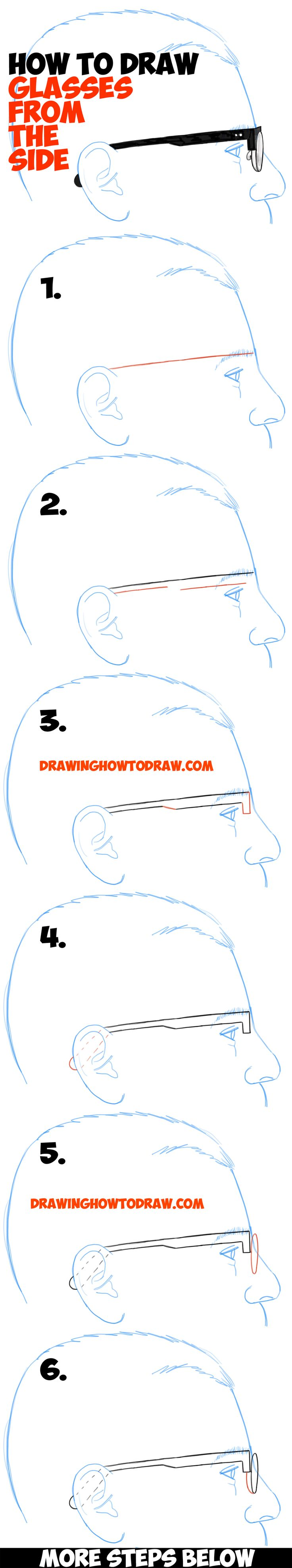 Drawn profile easy To characters (Profile) Angle View