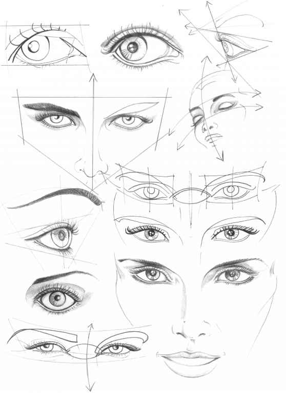 Drawn profile greek face Fashion Drawing Face Eyes Figure
