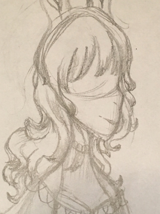 Drawn profile hair How drawings on cannot PaigeeWorld
