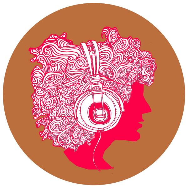 Drawn profile headphone In « in Headphones Headphones