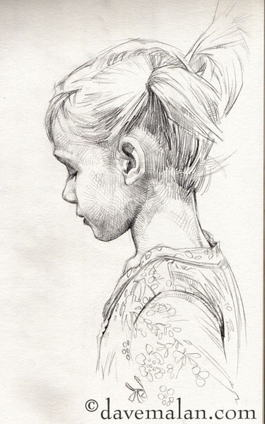 Drawn profile lady side face  Drawings sketch profile Sketches