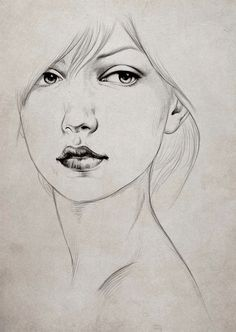 Drawn profile lady side face Side 68 @deviantART diegoidef Drawing