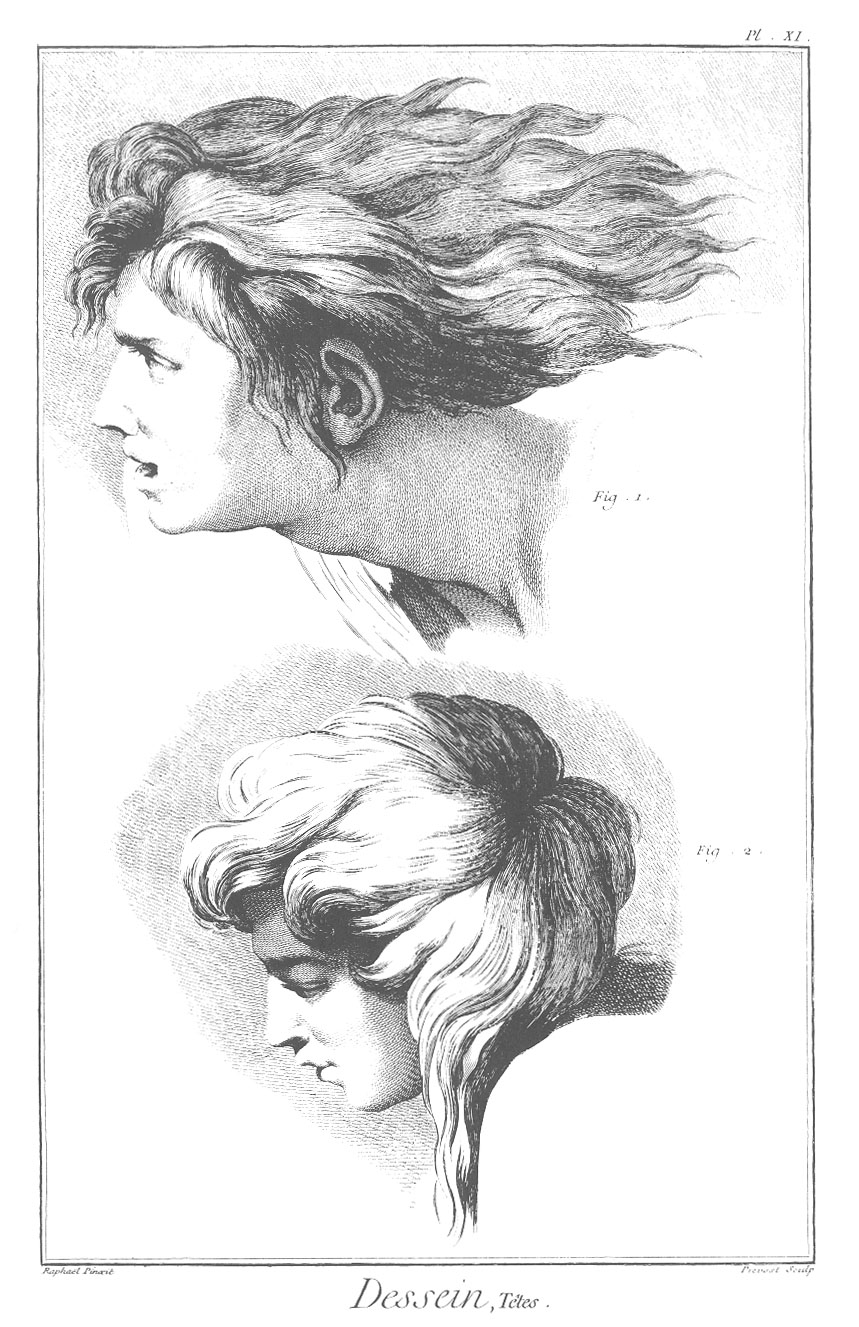 Drawn profile mouth XI: the Raphael jpeg profile: