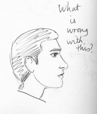 Drawn profile nose Is this Tips wrong Few