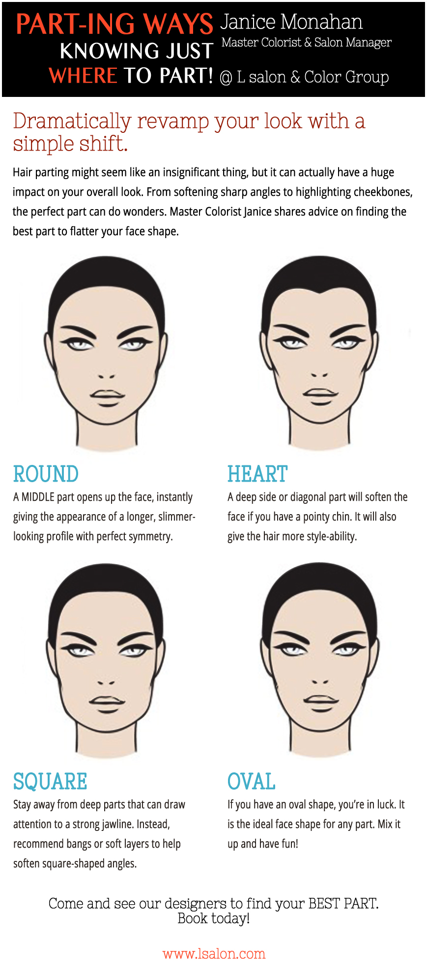 Drawn profile pointy chin Part  your flatter to