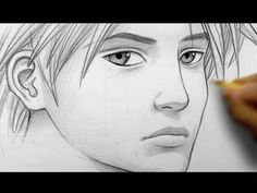 Drawn profile realistic How Manga  [pt